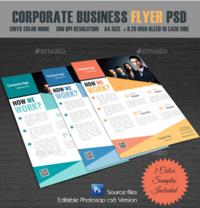Corporate Business Flyer PSD