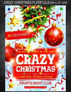 Crazy Christmas Flyer