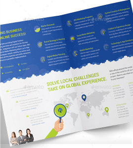 ad agency brochure design - 20 marketing brochure templates design blog