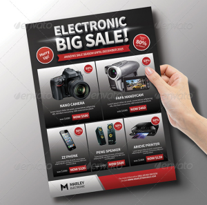 Electronic : Product Promotion Flyer
