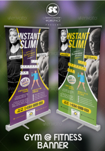 Fitness And Gym Banner