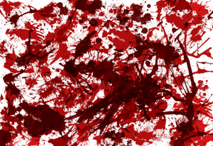 Free texture - Blood Splatter