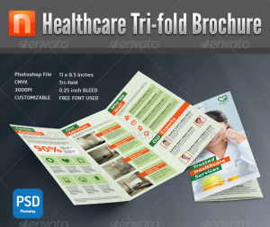 Healthcare Center Tri-fold Brochure V8