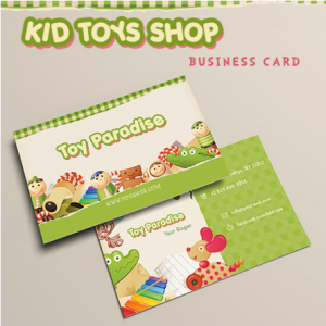 Kid Toy Paradise Business Card