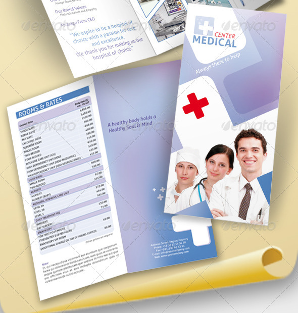 medical office brochure templates - 20 medical brochure templates design blog