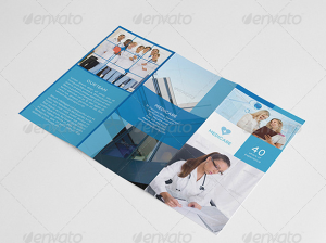 Medical Trifold A4 : Letter Brochure