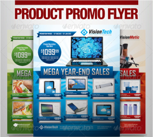 Multi-Purpose Product Promotion Flyer