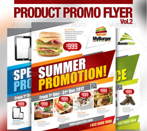 Multi-Purpose Product Promotion Flyer16
