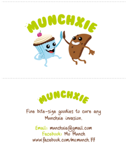Munchxie - Logo & business card design