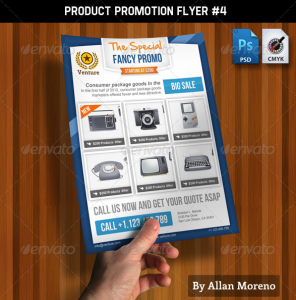 Product Promotion Flyer #4