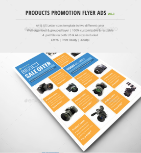 Product Promotion Flyer Ads Vol.3