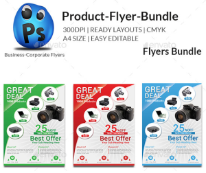 Product Promotion Flyer Bundle6