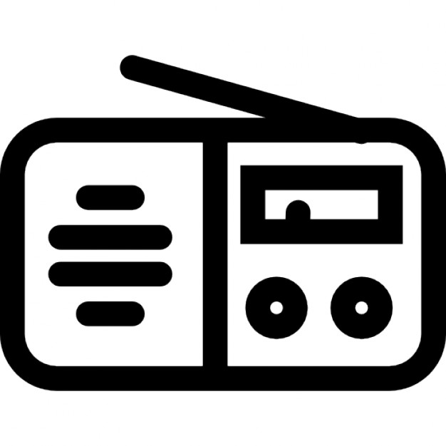 20 Radio Icon Vectors Design Blog