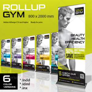 Roll-Up Gym