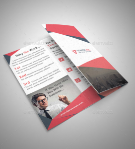 simple tri fold brochure template - 20 marketing brochure templates design blog
