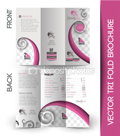 20 Beauty Salon Brochure Templates – Design Blog
